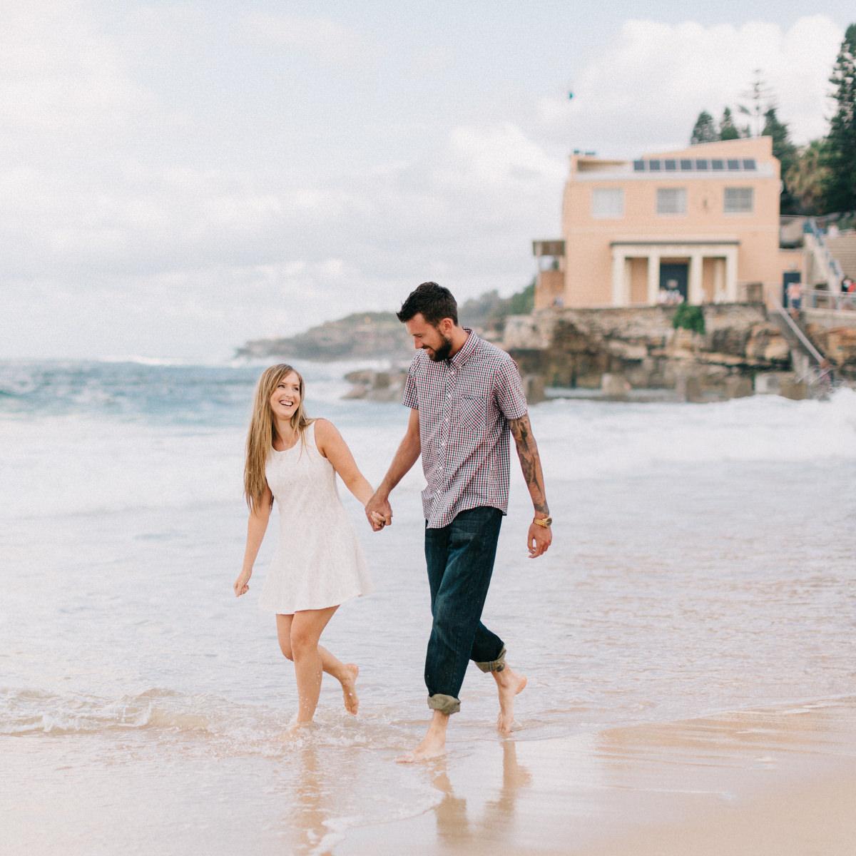 Stephanie + William : Coogee Beach Engagement Shoot | Sydney