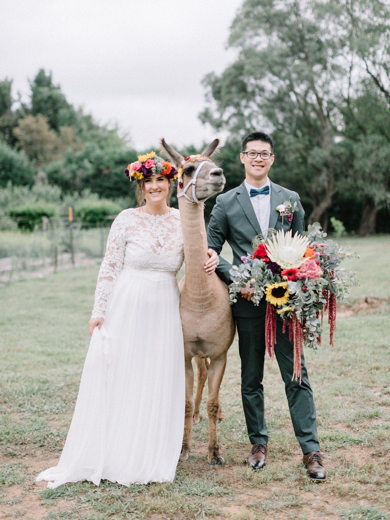 Hope + Jin : Mirrinyindi Backyard Wedding | Berrima
