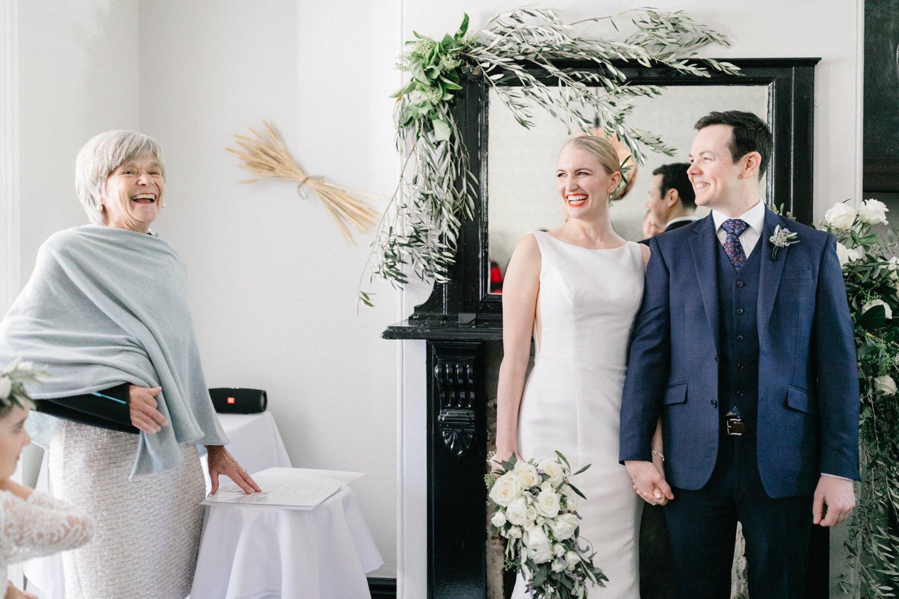 celebrant marrying a couple sydney wedding