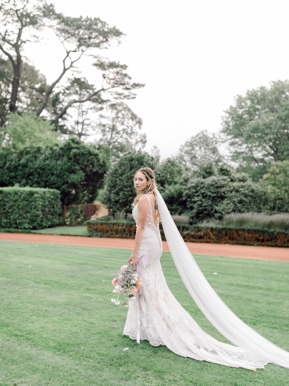 bride at bendooley estate wedding