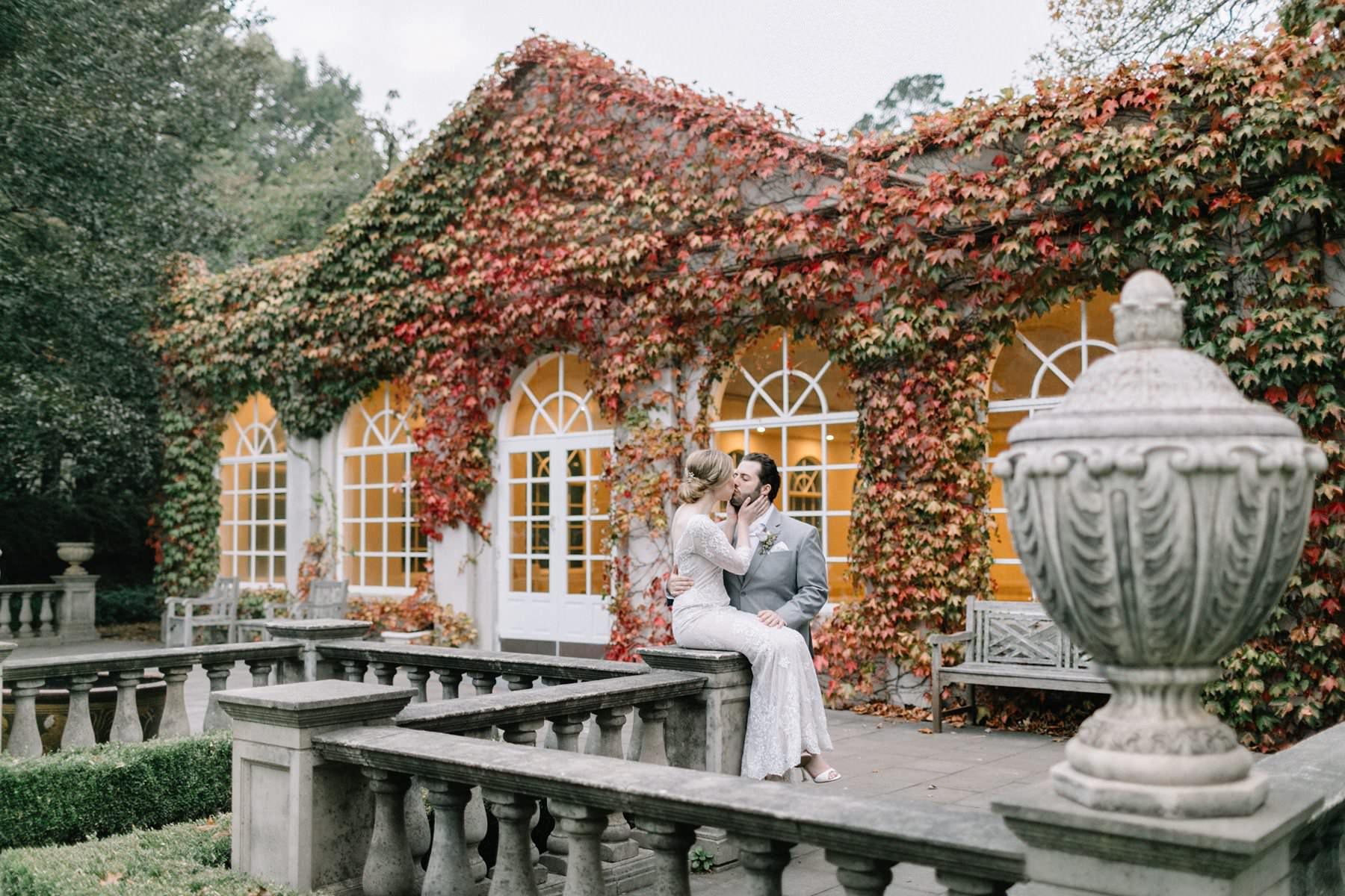 autuman wedding at milton park