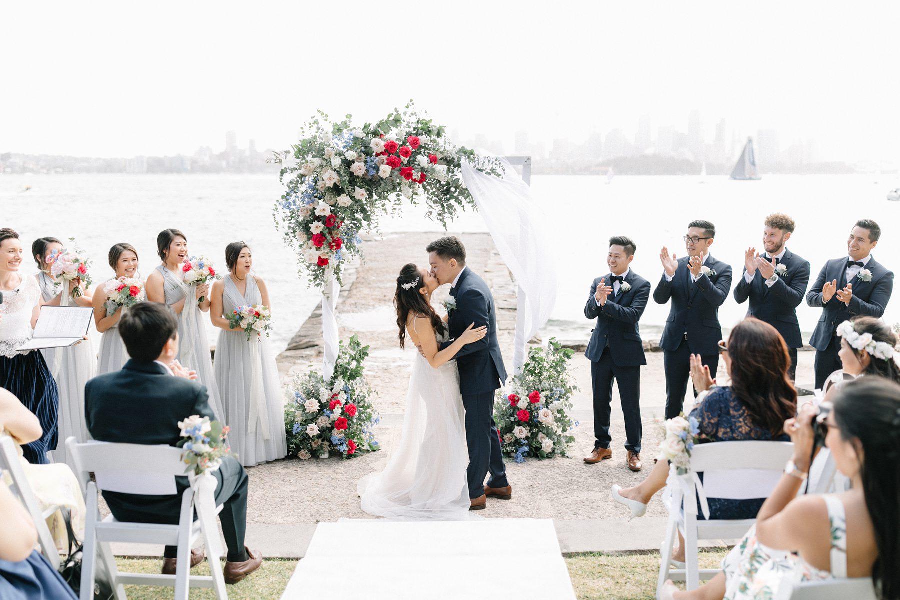 sydney harbour wedding